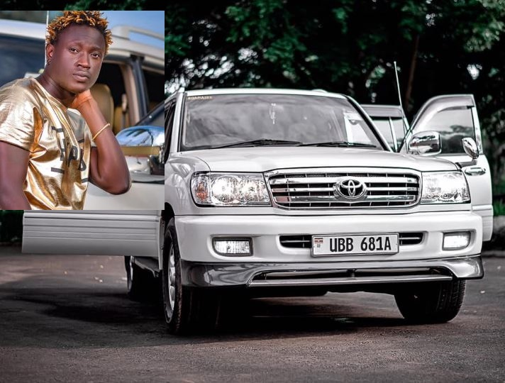 Gravity Omutujju On Cloud 9 After Acquiring Brand New Ride During COVID-19 Crisis