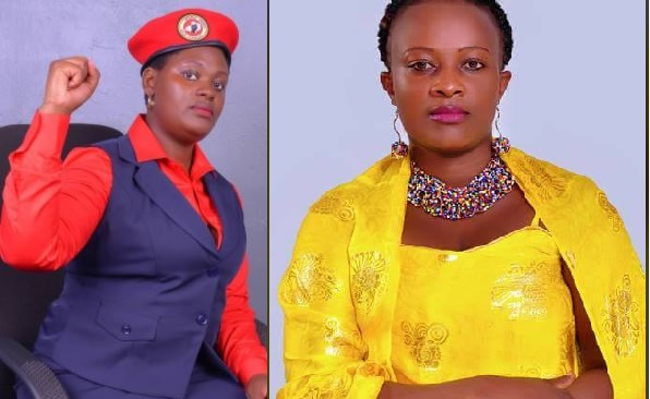 Bobi Wine Blue-eyed Gal Kobugabe Vows To Oust Museveni's Rwabwogo From Kabarole Woman MP Seat