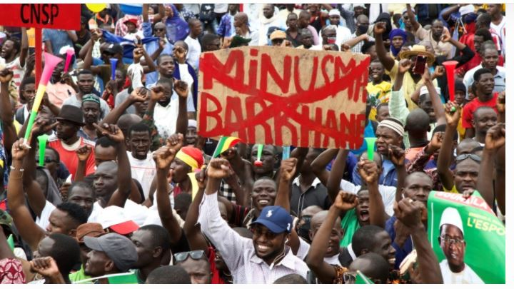 Jubilation In Mali As Army Joins Opposition Politicians To Celebrate Keita's Overthrow