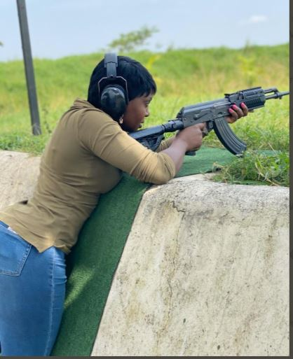 Lonely Singer Namubiru Discovers New Passion In Guns!