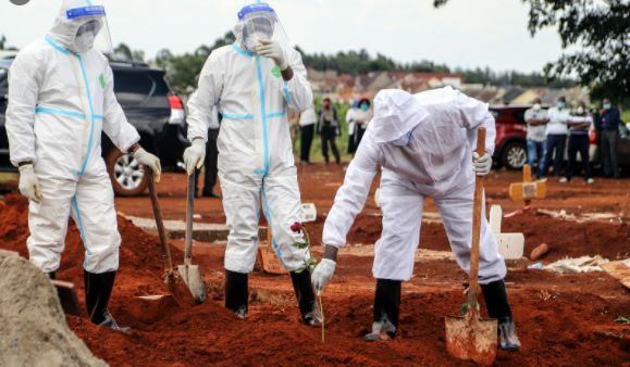 Panic: Uganda Runs Out Of COVID-19 Vaccine As Infection Rates Skyrocket