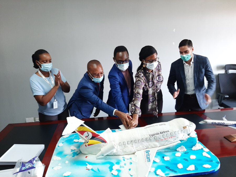 Britam Launches Bake Off Challenge After  'Crashed'  Uganda Airlines Cake