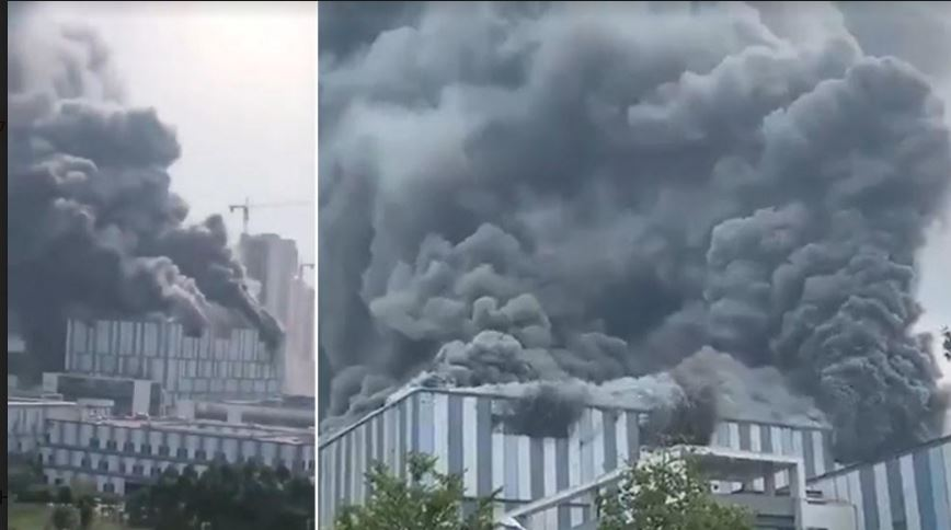Three Dead After Fire Guts Huawei 5G Research Lab In China