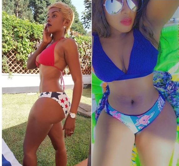 Dazzling Model Nana Weber Causes Untold Wantonness As She Flaunts Booty
