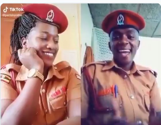 Prisons Warders' TikToK Love Chat Breaks Internet As Gov't Stakes Shs5m Bounty On Escapees