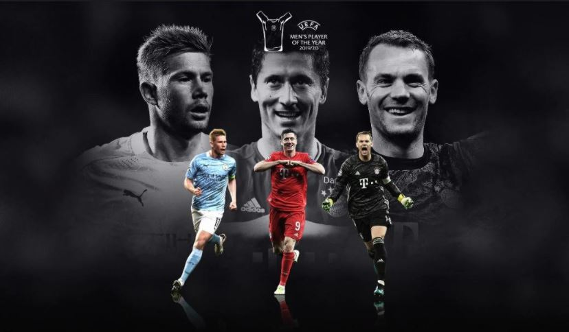 UEFA Awards: No Messi Or Ronaldo; Lewandowski, Tops Shortlist For Best Men's Player