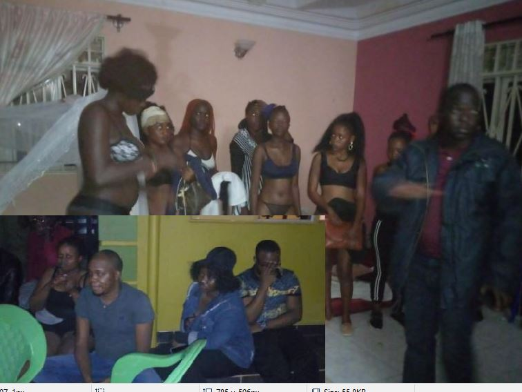 21 Arrested After Police Raids City Sex Party