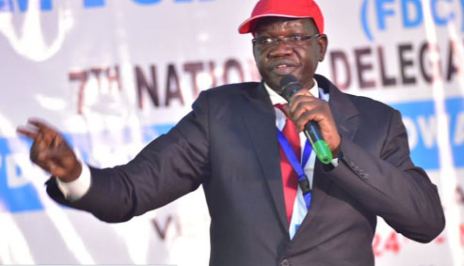 FDC's Amuriat Speaks Out On 2021 Presidential Candidacy, Names Campaign Team