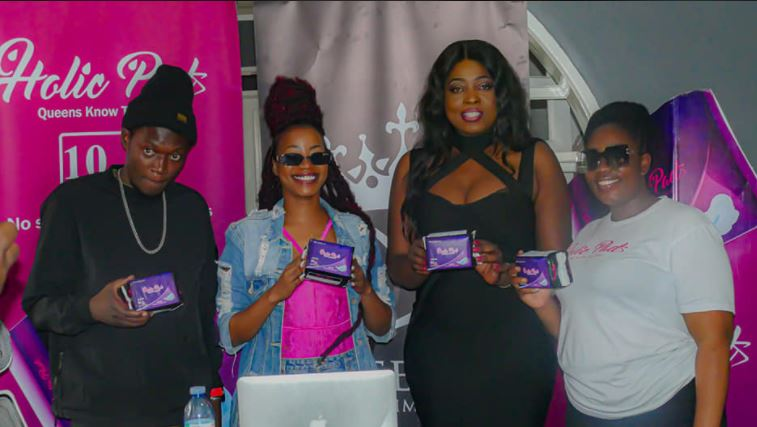 Sheebah, Nancy Kitaka Team Up In 'Pads For All' Campaign