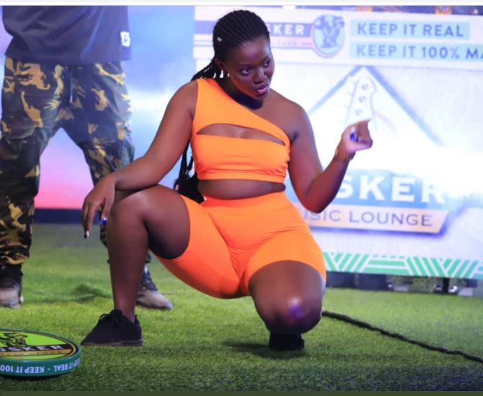 NBS TV Star Nagawa Causes Scrotal Eruptions As She Begs To Be 'Eaten'