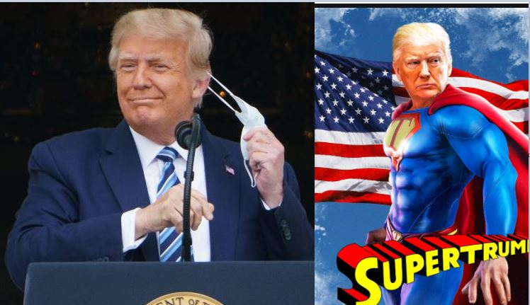 'I'm Immune To COVID-19'-Superman Trump