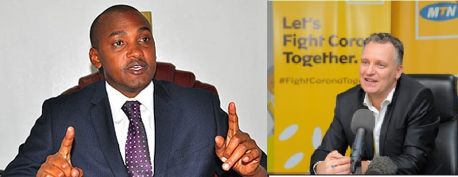 Minister Tumwebaze Irked By Poor MTN Network
