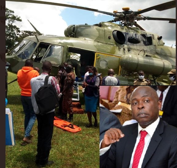 Judiciary Speaks Out On Justice Gadenya Health Condition, UPDF Airlifts Him To K'la