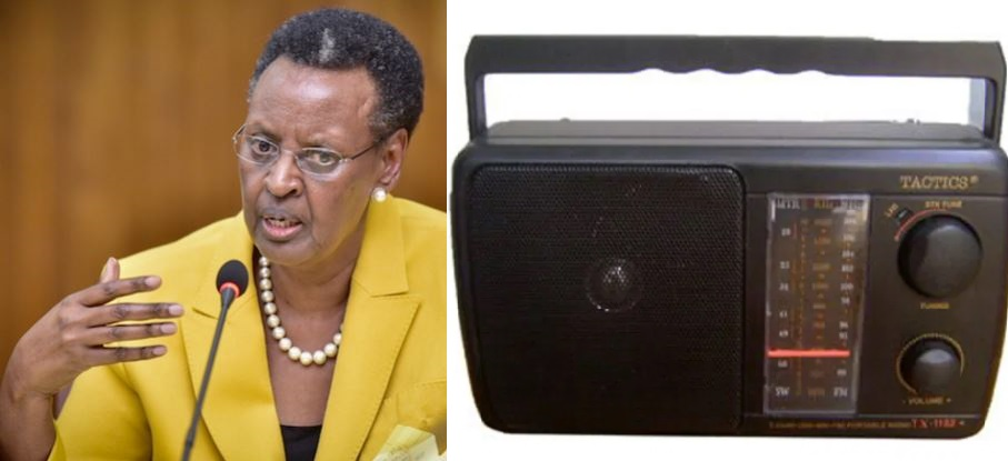 First Lady Janet Museveni Appeals To Parliament To Approve Purchase Of Nine Million Radios