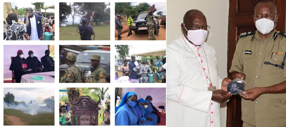 AIGP Kasingye Apologises To Catholic Church After Police Teargasses Congregation, Clergy