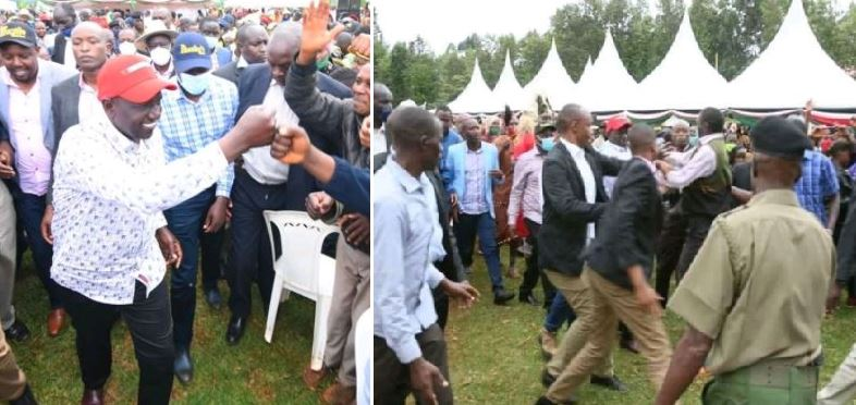Man Arrested For Attempting To Slap Kenya's Vice President Ruto
