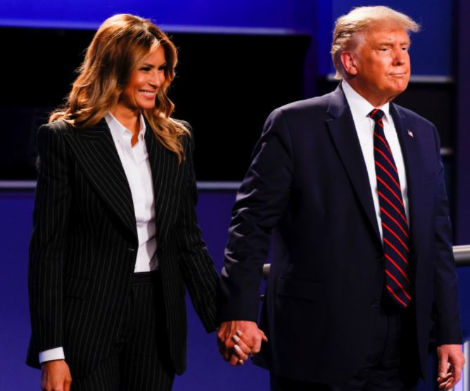 Shocking: Trump, First Lady Melania Infected With COVID-19