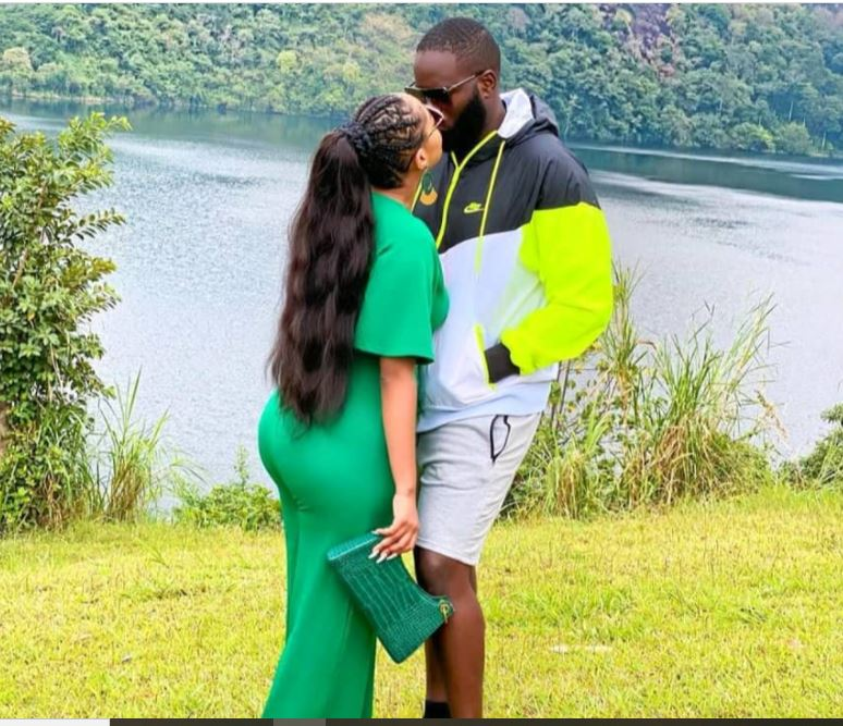 Fabiola, Lover Mubiru Celebrate One Year Of Chewing Themselves