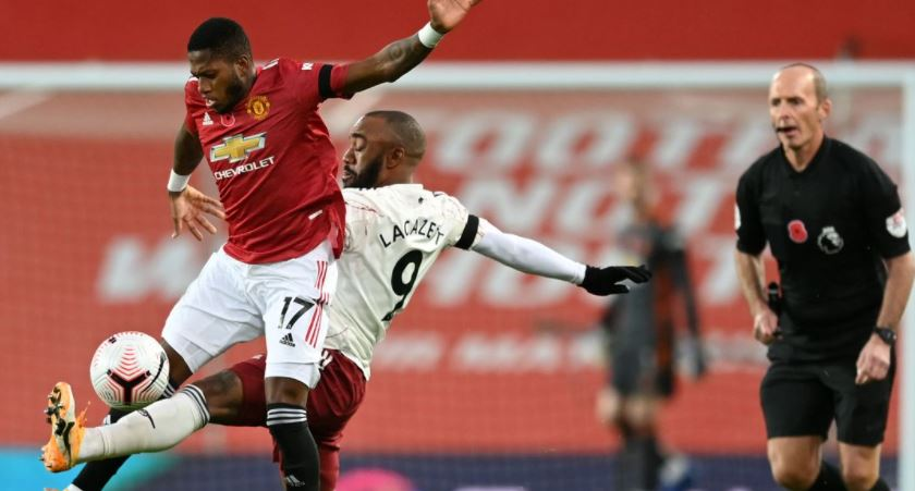 Stalemate As Man-United, Arsenal Draw 0-0 At Half Time