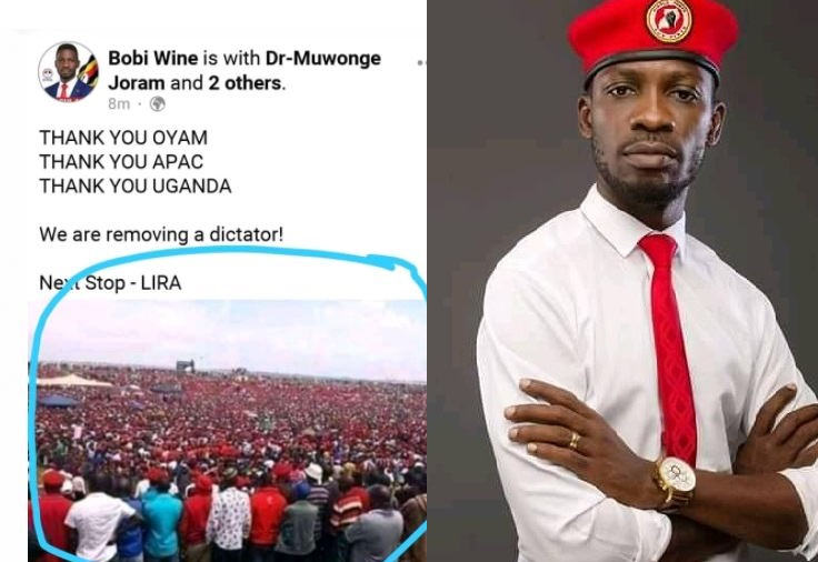 NRM Diehards Mock Bobi Wine For Doctoring Photos Of Purported NUP Supporters