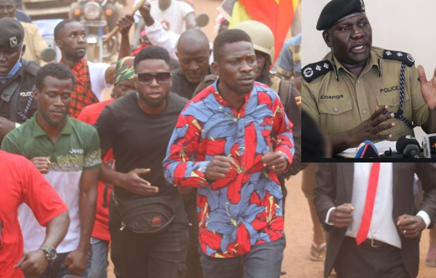 Police Warn NUP's Bobi Wine, FDC's Amuriat Against Breaching COVID-19 Regulations