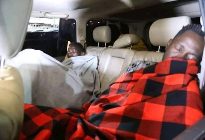 Bobi Wine, Team Sleep On Streets After Police Direct Hotel Owners To Deny Them Access