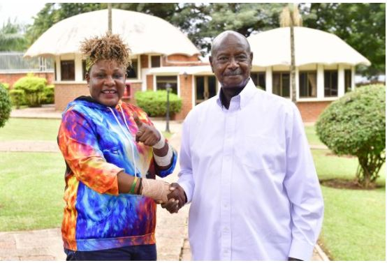 Full Figure Banned From Museveni Campaign Trail Over COVID-19