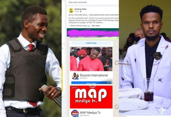 NRM Activist Ashburg Threatens To Strike Other NUP Online Channels As Gov't Crackdown On Media Intensifies