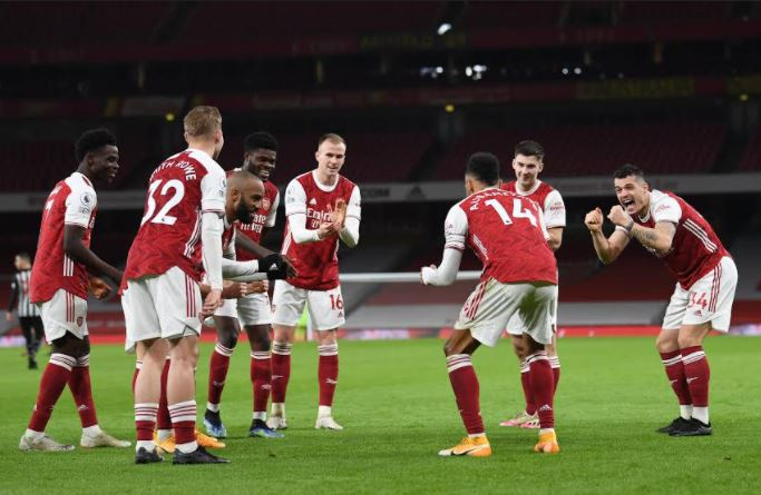 Arsenal Finally Break Into Top Half Of Premier League Table With Win Over Newcastle