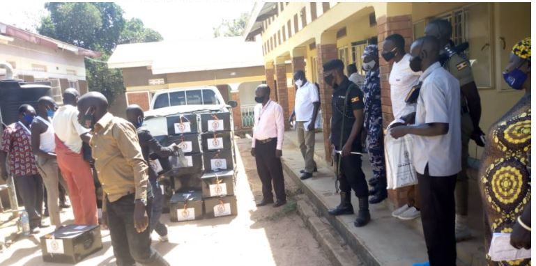 EC Delivers Voting Materials With Broken Seals On Ballot Boxes