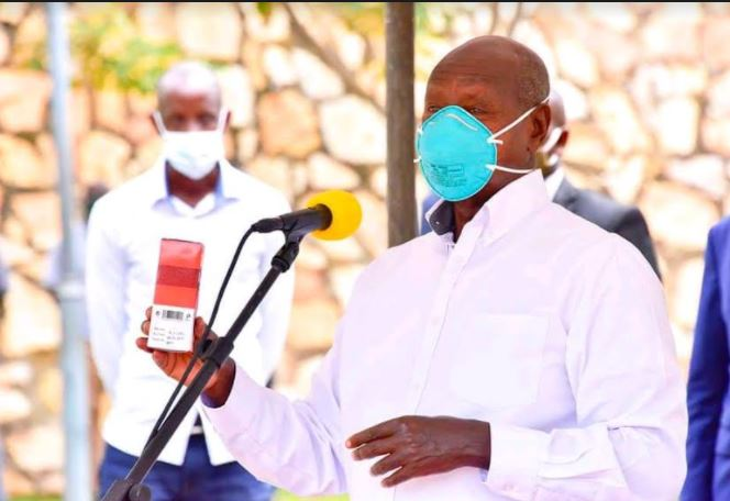Museveni Launches Clinical Trials For Ugandan Made COVID-19 Drug