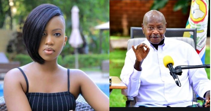 TV Star Sheilah Gashumba Tickles President Museveni In Cheeky Tweet About 2021 Elections