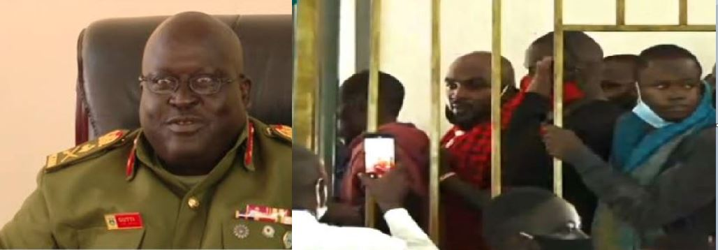 Eddie Mutwe, Nubian Li, 34 Other NUP Supporters Denied Bail By General Court Martial