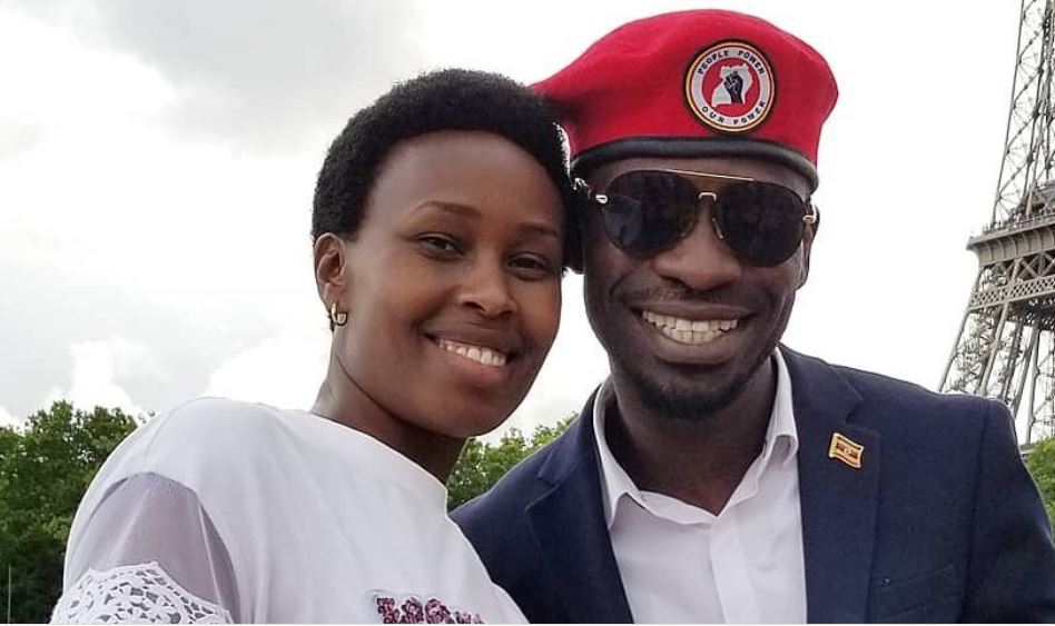 Bobi Wine's Wife Barbie Itungo Secretly Sneaks Out Of Country, Flees To America Shortly After Being Freed From House Arrest