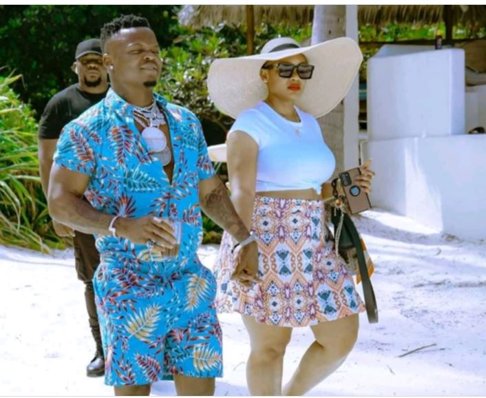 Harmonize Parades New Lover After Being Dumped By Italian Wife