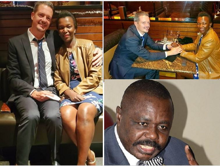 Deputy Speaker Oulanyah's Ex-Wife Surrenders Kids To New Mzungu Lover After Couple Gets Officially Engaged