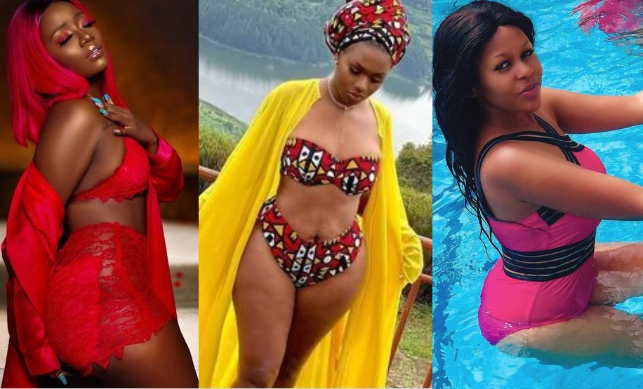 Sexy But Dying Of Loneliness: Lydia Jazmine, Sheebah, Sharon O & Other Celebs Who Have Lovers But Didn't Enjoy Valentine's Day With Them