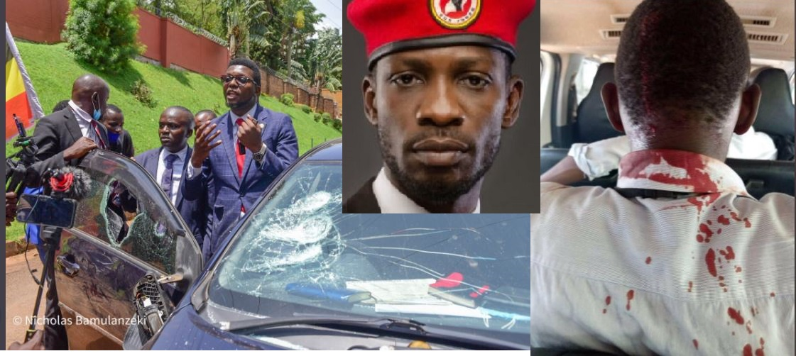 Military, Police Brutalise Journalists, Politicians As Bobi Wine Goes To Petition UN  Over Abductions In Uganda