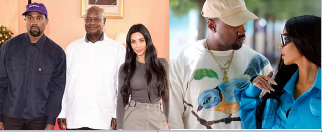 Museveni's Favourite TV Star Kim Kardashian To Divorce Hubby Kanye West After Seven Years Of Marriage