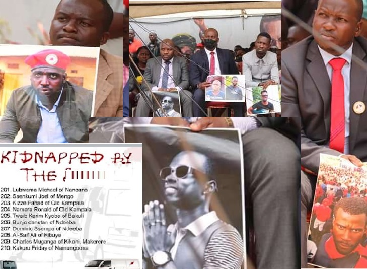 NUP Releases List Of 243 Missing Ugandans, After Internal Affairs Minister Fails To Present It In Parliament