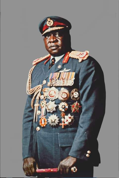 His Excellence Field Marshal Idi Amin Dada, former president of Uganda, and father to embattled Taban Amin. COURTESY PHOTO.