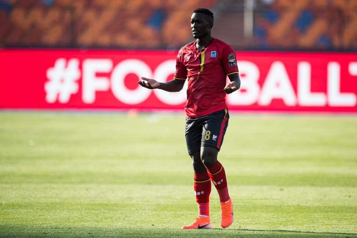 Cranes Midfielder Aucho Dismissed From Camp For Failure To Adhere To The National Team Code Of Conduct