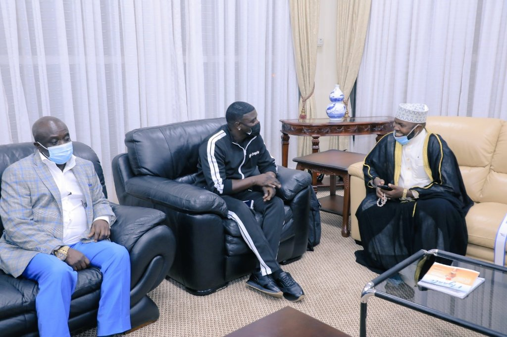 American Star Akon In Ugandan For A Business Visit, Wants To Meet Museveni