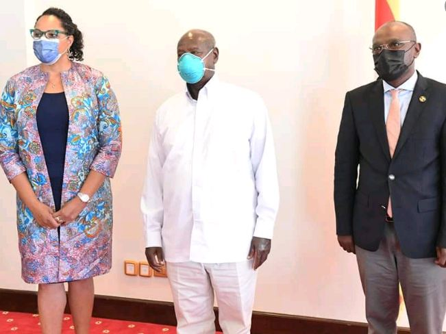 President Museveni Holds Private Meeting  With U.S Ambassador Brown Amidst Tensions