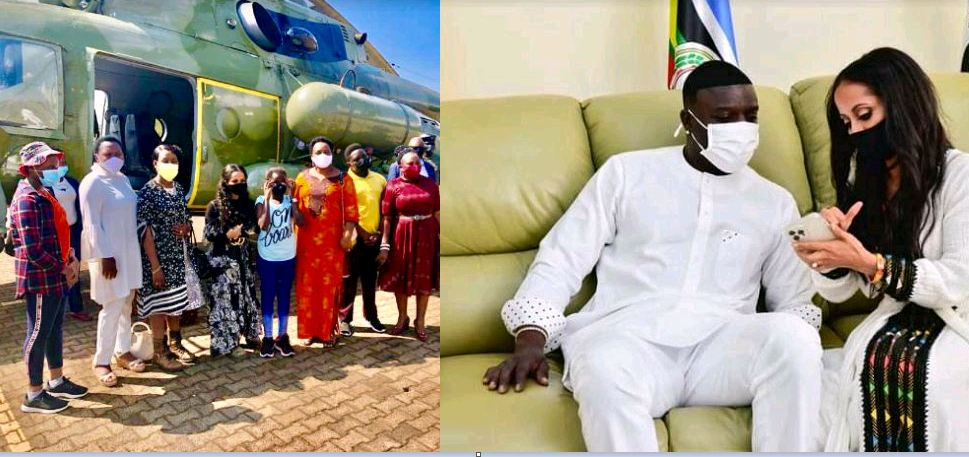 Sylvie Owori 'Steals' Limelight During Akon's Trip To Uganda
