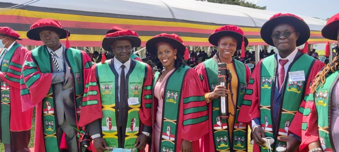 71st Makerere University graduation ceremony underway, 12,550 to graduate; of these, 108 are PhD candidates