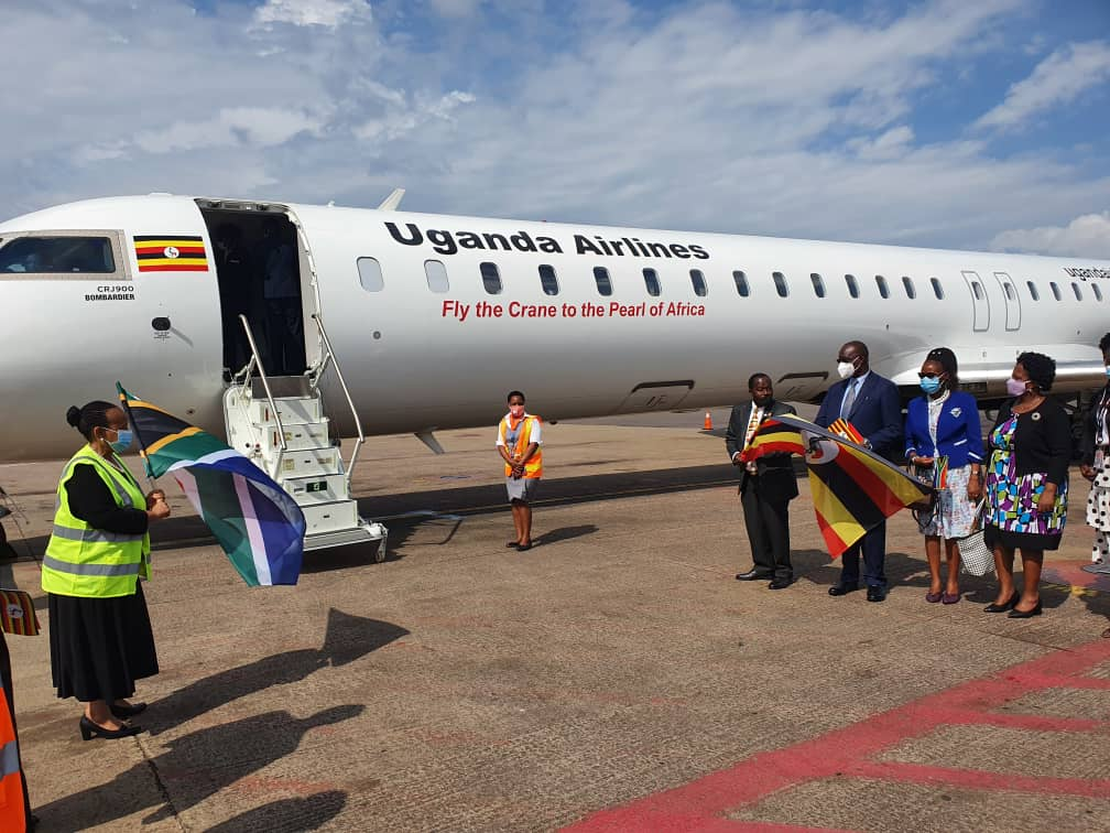 Uganda Airlines launches direct weekly flights to Johannesburg
