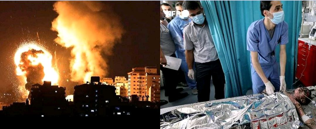 Apocalypse As Israel Continues Bombing Gaza, Over 119 Dead