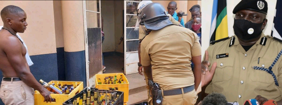 Police Raid Bars Operating Illegally, Arrest 2124 For Flouting COVID-19 Regulations