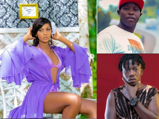 Spice Diana, Manager Roger Clash Over Nince Henry